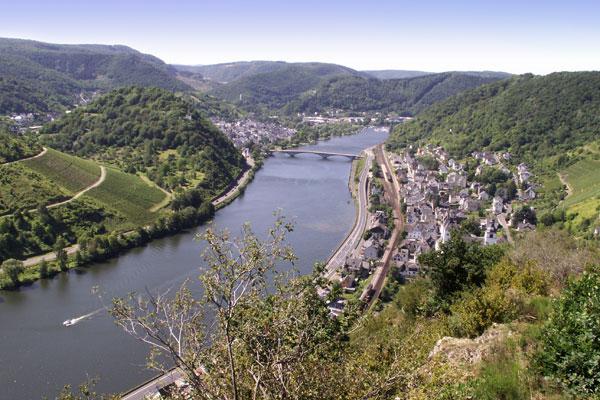 Rondvaart op de moezel in Duitsland